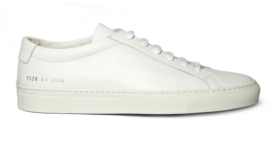 COMMON PROJECTS White Original Achilles Leather Sneakers JFh2WoDTd
