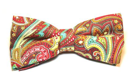 paisley mae custom bow tie blankmode