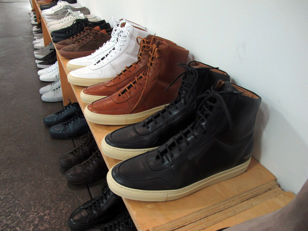 e3e3addeeaa8e Common Projects High-top Vintage Basketball Sneakers – BLANKMODE