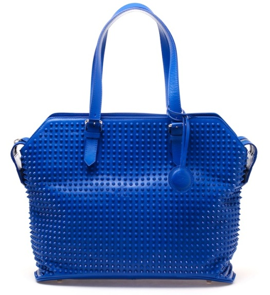 Christian-Louboutin-Syd-Studded-Blue-Leather-bag-UpscaleHype
