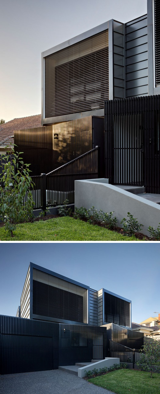 modern-black-townhouses-aluminium-batten-screening-driveway-120517-202-02
