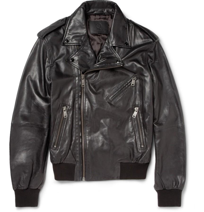 McQueen Leather Jacket