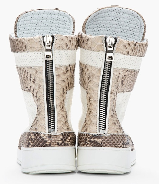 Balmain-Pythonskin-Ivory-Tuape-Perforated-Leather-Sneakers-UpscaleHype-4