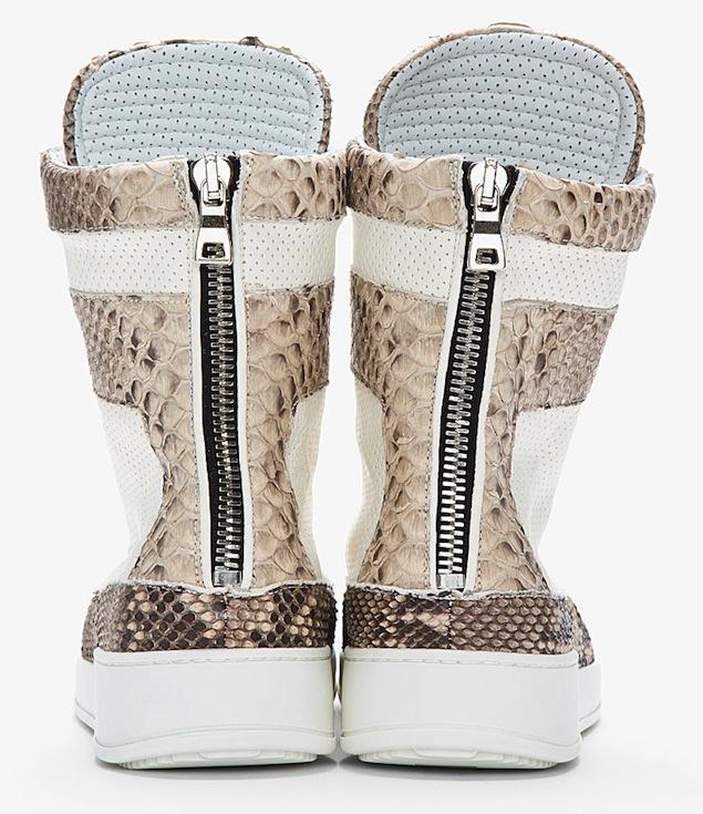 Balmain-Pythonskin-Ivory-Tuape-Perforated-Leather-Sneakers-UpscaleHype-4