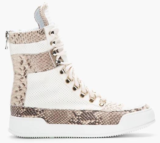 Balmain-Pythonskin-Ivory-Tuape-Perforated-Leather-Sneakers-UpscaleHype