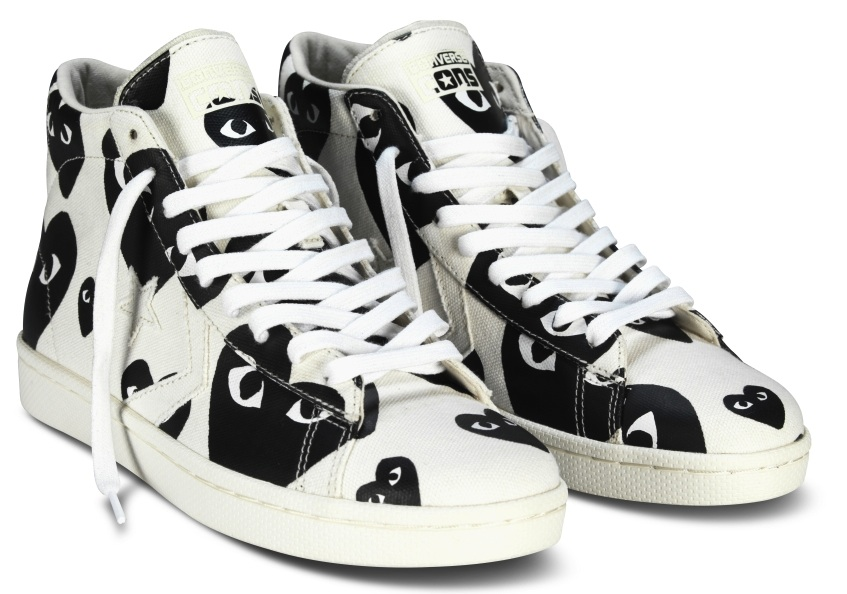 a22660bc482240 Comme des Garçons PLAY x Converse Pro Leather Collection – BLANKMODE
