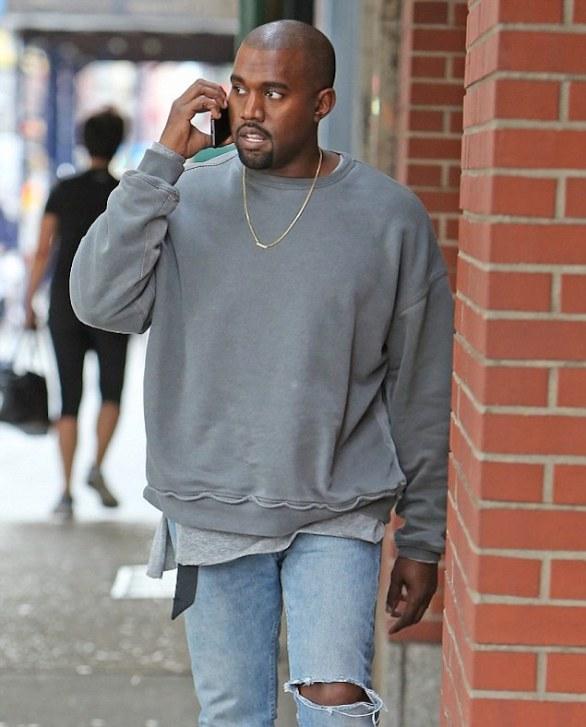 Kanye-West-Haider-Ackermann-grey-washed-ovesized-sweatshirt-sweaters